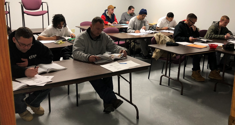 Incarcerated Men at CCCL Begin Construction-Focused Course
