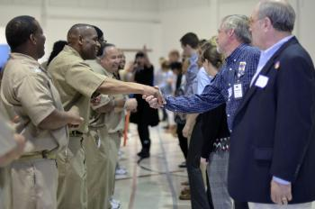 Inmates and volunteers form connections