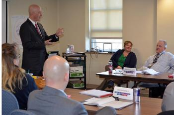 Gov. Ricketts addresses Leadership Academy