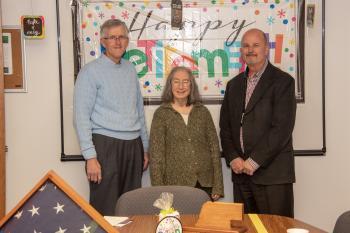 Ann's family, Ann, NDCS Director Scott Frakes